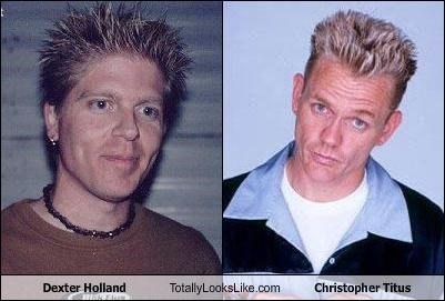 Dexter Holland Totally Looks Like Christopher Titus