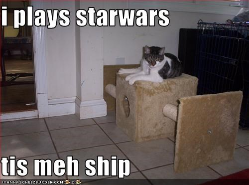 i plays starwars  tis meh ship