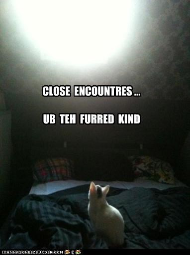 CLOSE  ENCOUNTRES ...  UB  TEH  FURRED  KIND