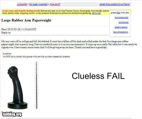 Clueless fail