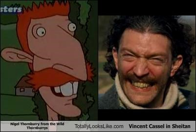 Nigel Thornburry from the Wild Thornburrys Totally Looks Like Vincent Cassel in Sheitan