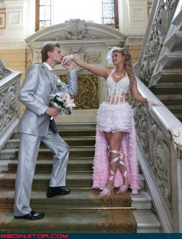 chivalry,corset,Crazy Brides,fashion is my passion,gentleman,groom,Lingerie Wedding Dress,tacky,were-in-love