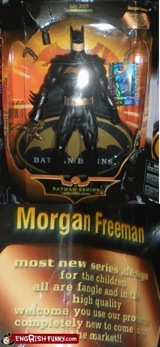 Morganfree-Man always was my favourite superhero.