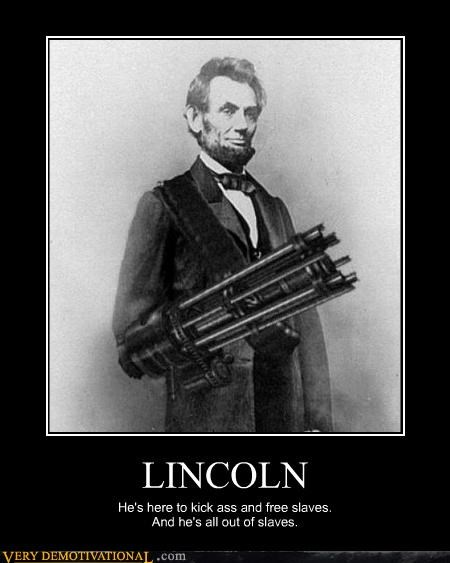 Lincoln Is a Cyborg