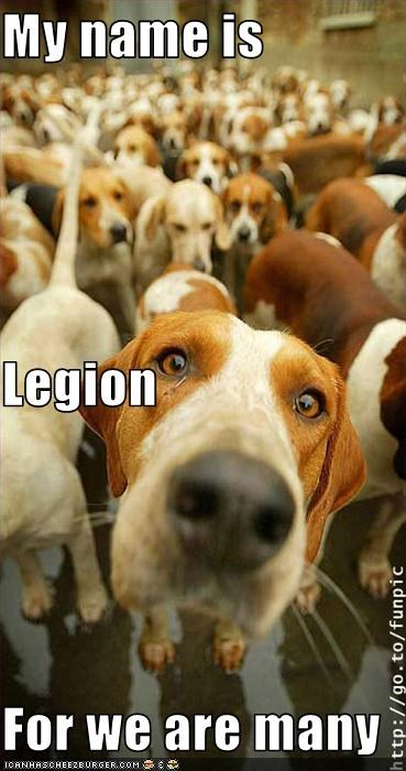 My name is Legion For we are many