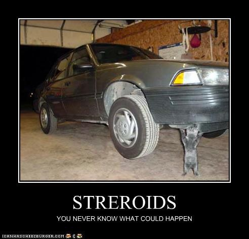 car,steroids,strong