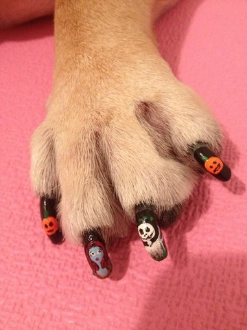 These Spooky Dog Nails Are Pooch-Perfect For Halloween