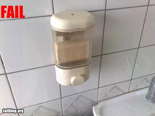 Soap Dispenser Fail