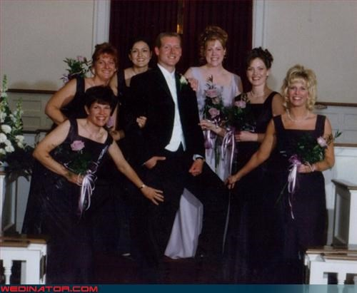 bad hair,bridesmaids,crazy groom,eww,fashion is my passion,P-I-M-P,surprise,ugly bridesmaid dresses,upper thigh,wedding party,wtf