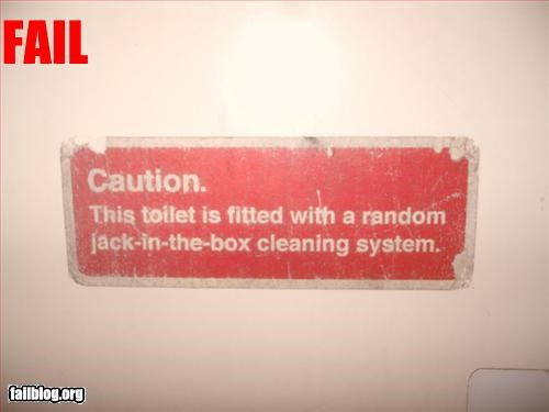 caution,cleaning,g rated,jack in the box,oddly specific,signs,system,toilet