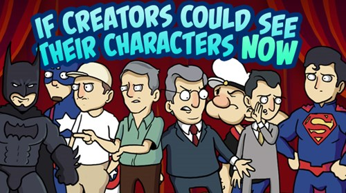 If Comic Creators Could See Their Characters Now