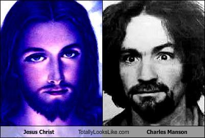 Jesus Christ Totally Looks Like Charles Manson