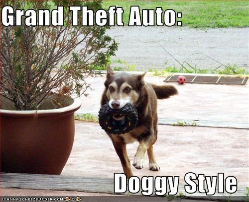 Grand Theft Auto:  Doggy Style