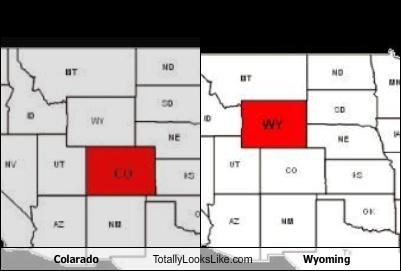 Colarado Totally Looks Like Wyoming