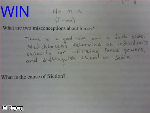 Physics WIN!