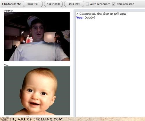 baby,Chat Roulette,daddy