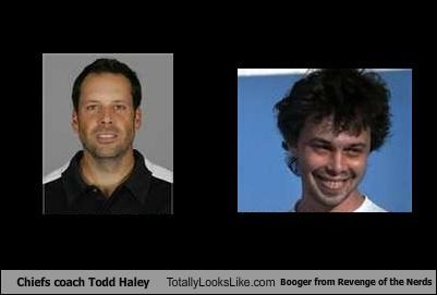 Chiefs coach Todd Haley Totally Looks Like Booger from Revenge of the ...