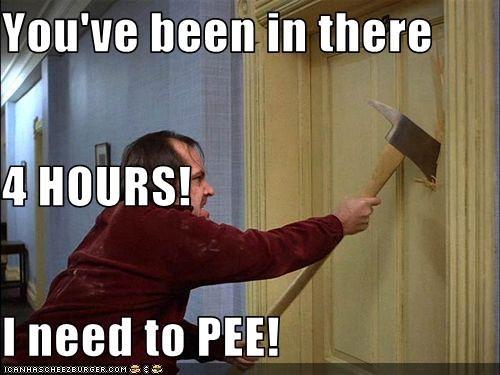 the shining,bathroom,jack nicholson,pee