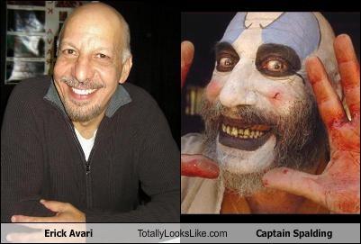 Erick Avari Totally Looks Like Captain Spalding