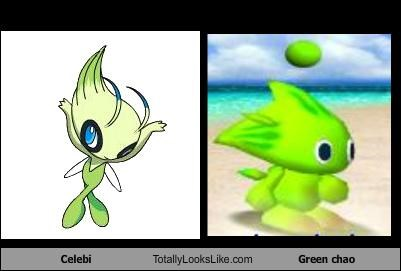 Celebi Totally Looks Like Green chao