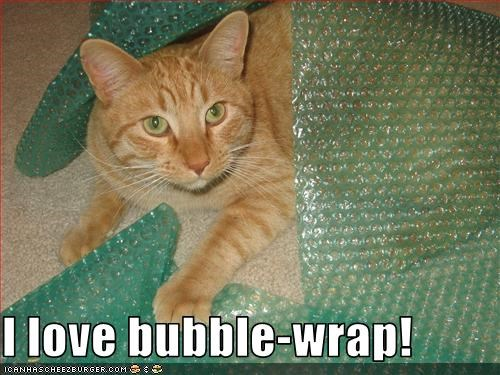 I love bubble-wrap!