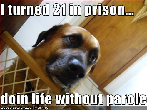 I turned 21 in prison...  doin life without parole