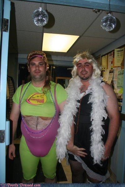 Poorly Dressed Halloween Costume Contest