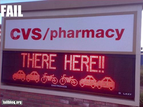 Popular Pharmacy Slogans http://failblog.cheezburger.com/vote/page/3156
