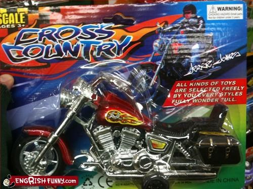 celebrity brands,g rated,motorcycle,style,toys,wonderful