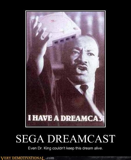 video games,martin luther king jr,dreamcast