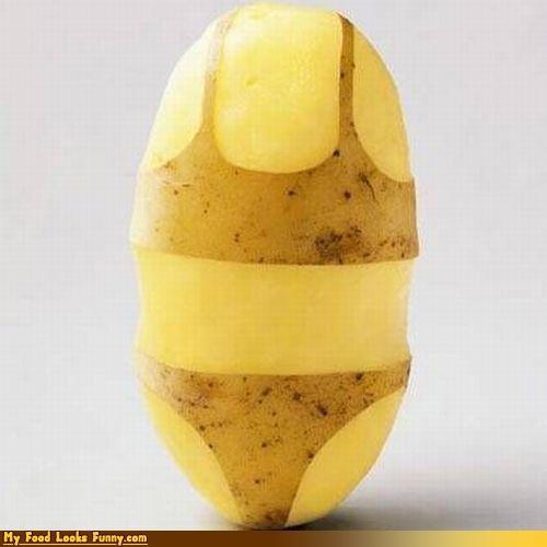 bikini,potato,sexy times,vegetable