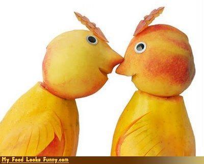 birds,fruits-veggies,peaches