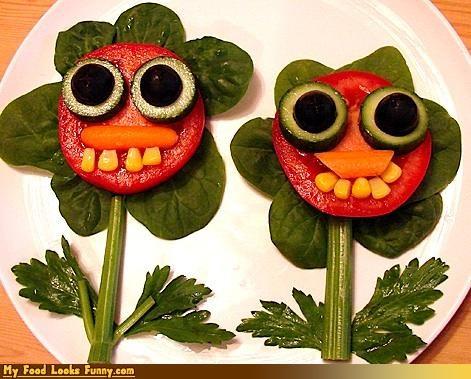 celery,corn,flowers,fruits-veggies,olives,tomatoes