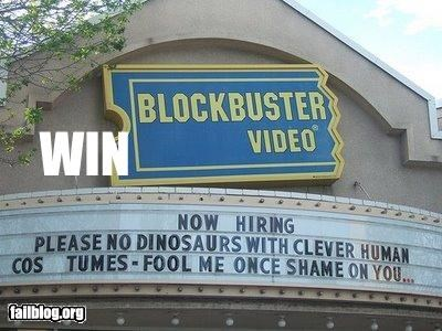 Blockbuster Win
