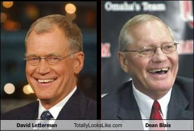 David Letterman Totally Looks Like Dean Blais