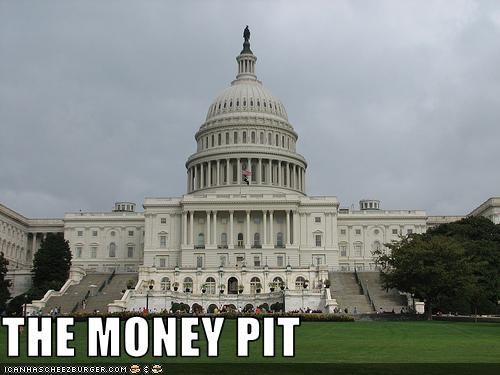 money,spending,US capitol building
