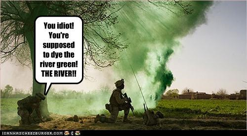 You've ruined St. Patrick's Day!