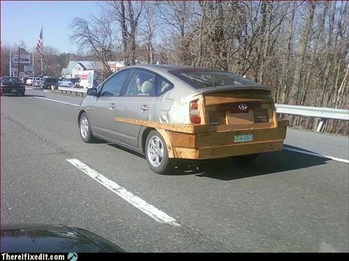 Plywood Prius
