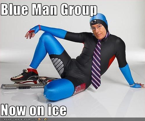 Blue Man Group  Now on ice