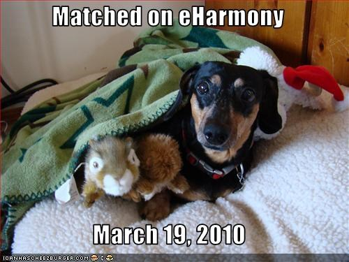 Matched on eHarmony  March 19, 2010