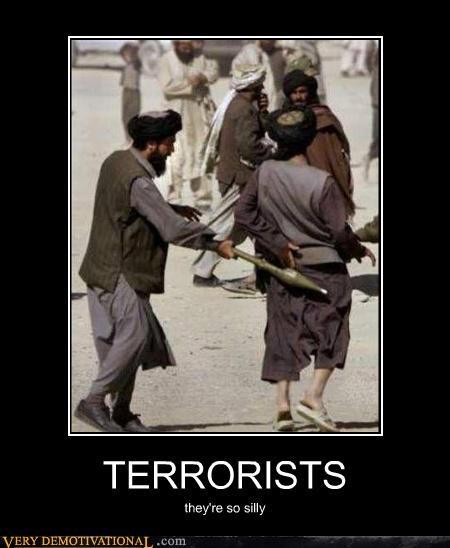 hilarious,no homo,rockets,silly,spanking,terrorists