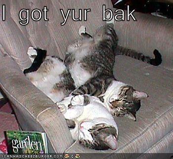 I got yur bak