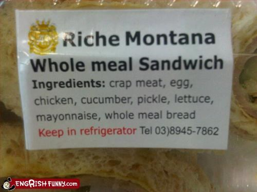 Wholemeal sandwich - Made with recycled ingredients