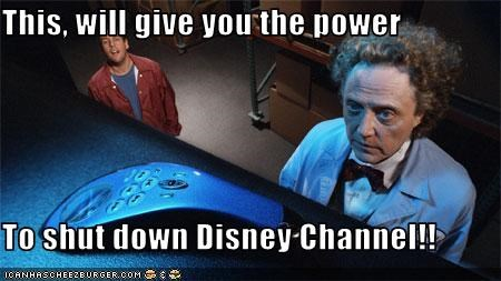This, will give you the power  To shut down Disney Channel!!