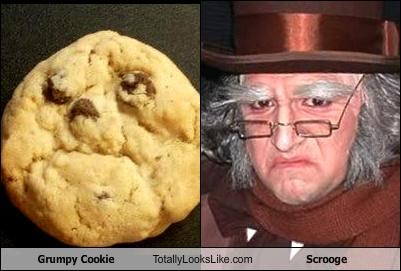 Grumpy Cookie Totally Looks Like Scrooge