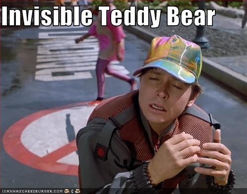 Invisible Teddy Bear