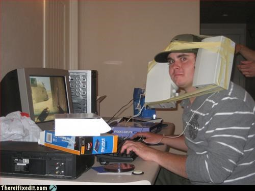 computer,masking tape,speakers,video game