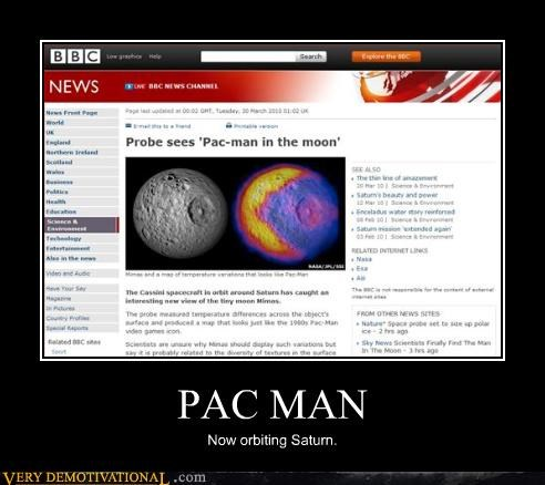 Pac-Man vs Saturn