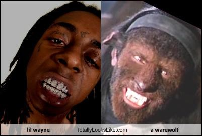 lil wayne Totally Looks Like a warewolf