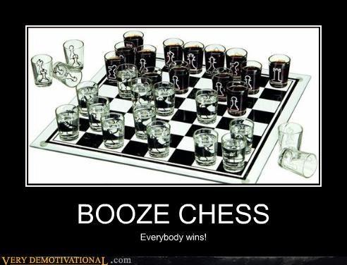 thinking,drinking game,chess